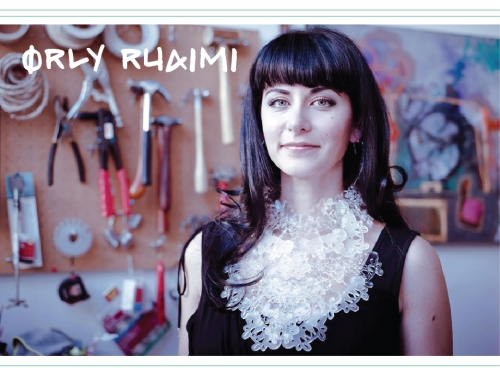 Orly Ruaimi, jewelry designer, San Francisco, abstract painting, graffiti and fashion, fashion, exhibition, art gallery, fashion art,