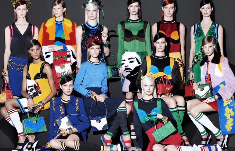 Renata Gar, Trend report, Spring 2014 trends, SS 2014 runway trends, fashion stylist, painter, pop art, art, prints, spring summer fashion